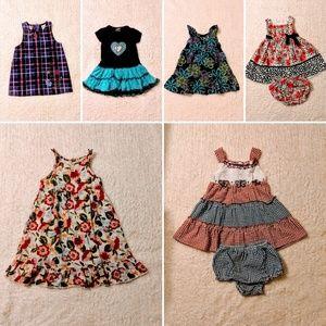 Girls Size 24 months Summer Dress Bundle
